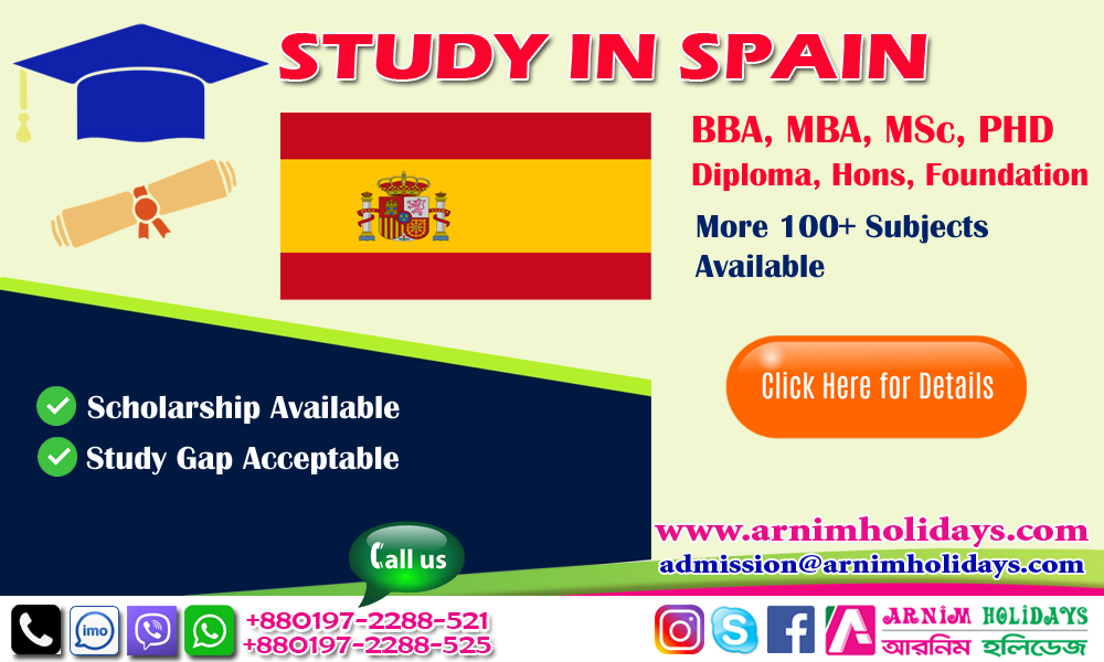 Spain Student Visa from Bangladesh